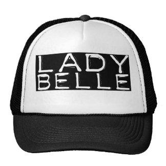 """Negro """"señora Belle """" Gorras"""
