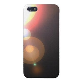 Negro simple de la llamarada iPhone 5 carcasa