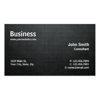 Negro simple moderno profesional de la reparación  tarjeta de visita