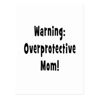 negro sobreprotector amonestador de la mamá postales