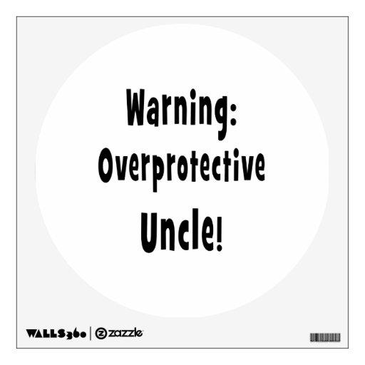 negro sobreprotector amonestador del tío