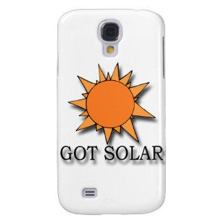 Negro solar conseguido funda para galaxy s4