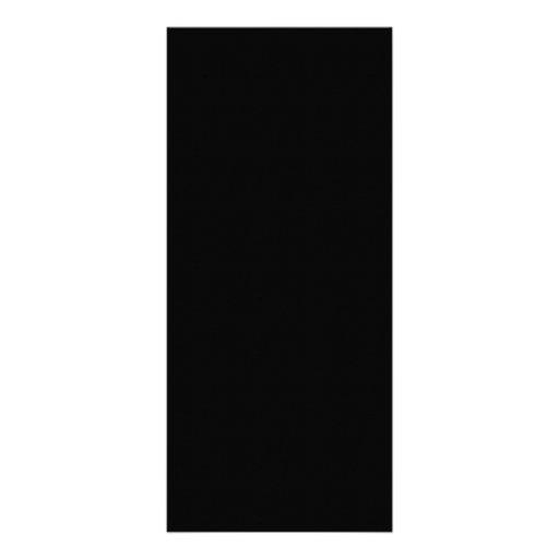 Negro sólido diseño de tarjeta publicitaria