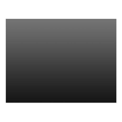 negro-sombra postal