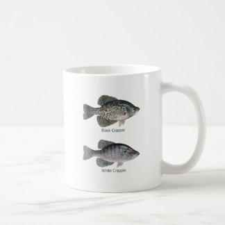 Negro - tipo de pez blanco (titulado) taza clásica