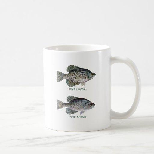 Negro - tipo de pez blanco (titulado) taza de café