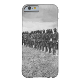 Negro troops in France.  Picture shows_War Image Barely There iPhone 6 Case