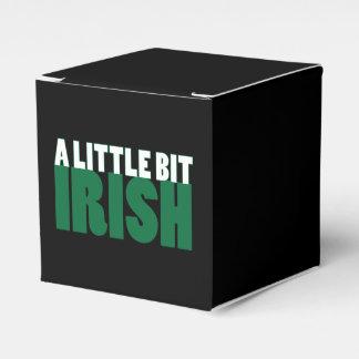 Negro un poco irlandés cajas para regalos