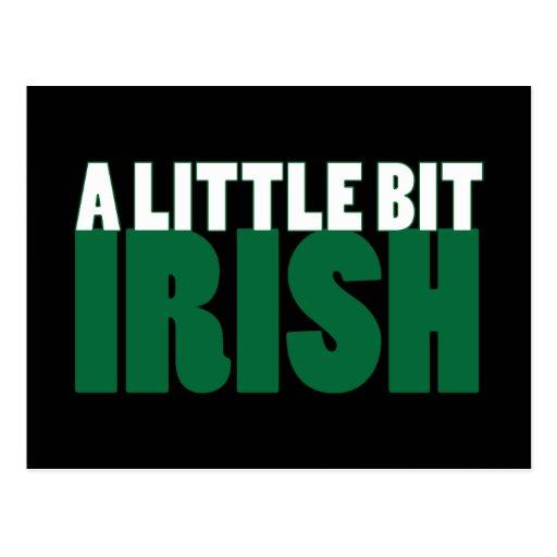 Negro un poco irlandés postales