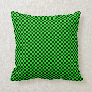 Negro/verde lima adaptables a cuadros almohada