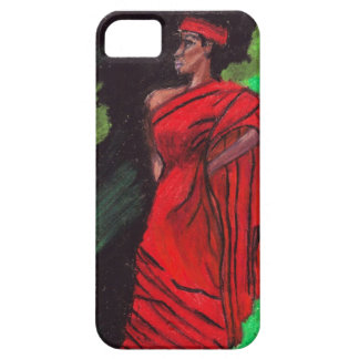 NEGRO, WOMAN IN RED iphone5 case