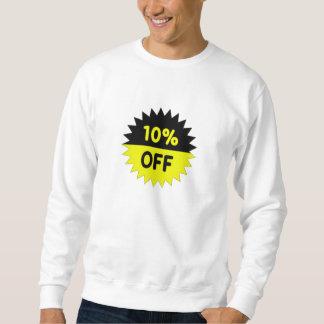 Negro y amarillee el 10 por ciento apagado suéter