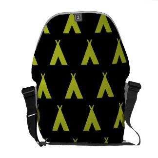 negro y amarillo de la tienda de los indios nortea