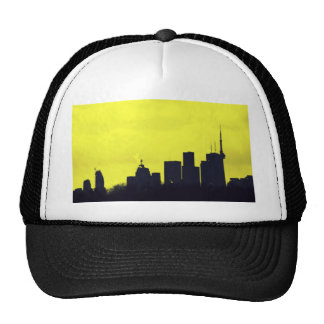 Negro y amarillo de Toronto Gorro