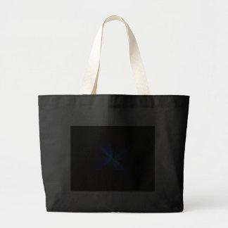 Negro y azul bolsas
