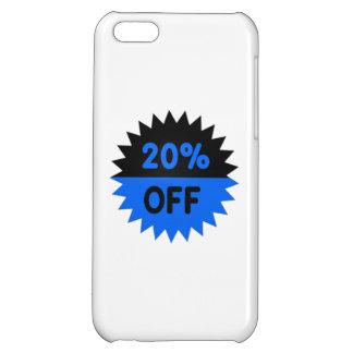 Negro y azul el 20 por ciento apagado