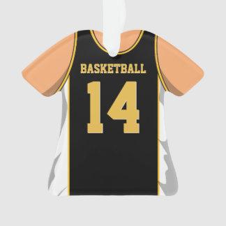 Negro y baloncesto del oro