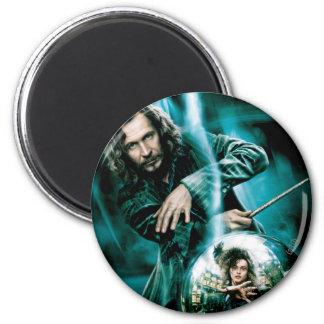 Negro y Bellatrix Lestrange de Sirius Imán Redondo 5 Cm