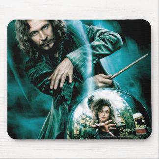 Negro y Bellatrix Lestrange de Sirius Mousepad