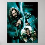 Negro y Bellatrix Lestrange de Sirius Poster