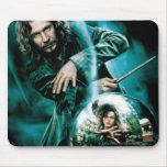 Negro y Bellatrix Lestrange de Sirius Tapete De Raton