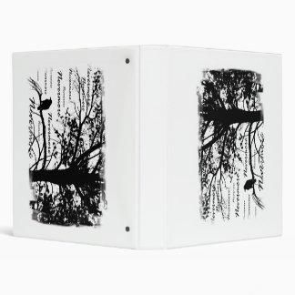 """Negro y blanco Raven nunca más el árbol de la Carpeta 1"""""""