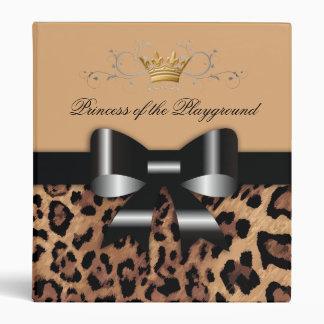 """Negro y Brown del leopardo de 311 Arcos-licious Carpeta 1"""""""