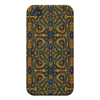 Negro y caja anaranjada del extracto IPhone4 iPhone 4 Cárcasas