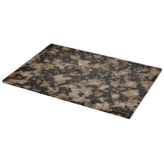 Negro y falsa textura de la piedra del granito del tablas para cortar