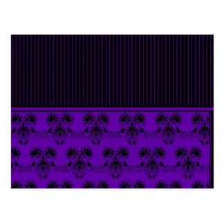 Negro y modelo de Purple Heart (2) Tarjeta Postal