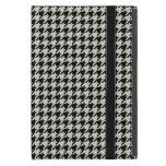 Negro y moreno clásicos Houndstooth iPad Mini Protectores