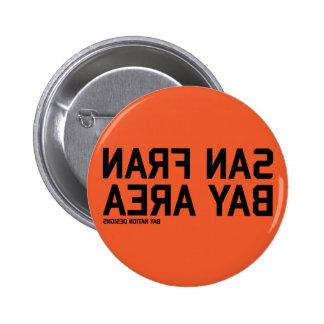 Negro y naranja de SFBA Pins