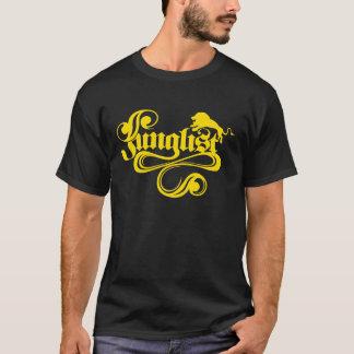 Negro y oro de Junglist Playera