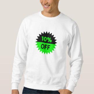 Negro y ponga verde el 10 por ciento apagado jersey