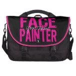 Negro y rosa bolsas de portatil