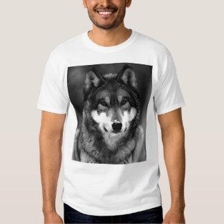 Negro y White Wolf Polera