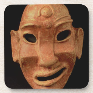 Negroid mask from Carthage, 7th-6th century BC (te Beverage Coaster