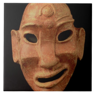 Negroid mask from Carthage, 7th-6th century BC (te Ceramic Tile
