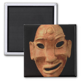 Negroid mask from Carthage 7th-6th century BC te Fridge Magnet