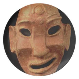 Negroid mask from Carthage, 7th-6th century BC (te Plate