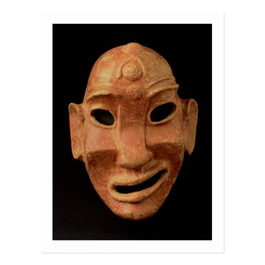 Negroid mask from Carthage, 7th-6th century BC (te Postcard