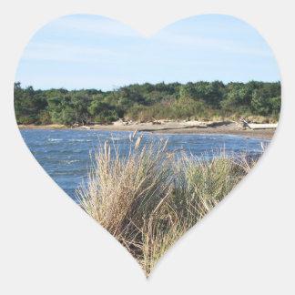 Nehalem Bay State Park Heart Sticker