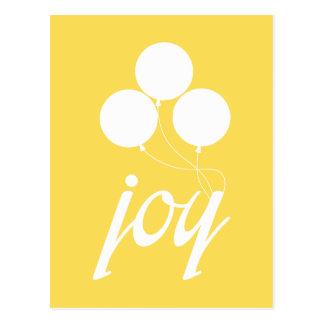Nehemiah 8:10 - Joy Balloons Postcard