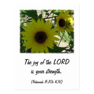 Nehemiah 8:10 post cards