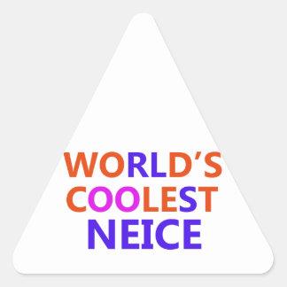 neice design triangle sticker