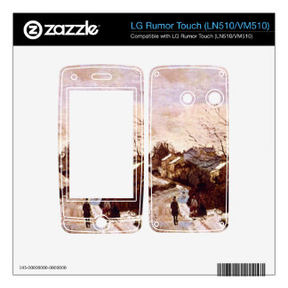 Neige a Lower Norwood by Camille Pissarro Skins For LG Rumor Touch