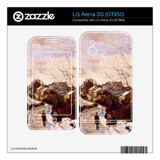 Neige a Lower Norwood by Camille Pissarro LG Arena 3G Skins