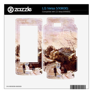 Neige a Lower Norwood by Camille Pissarro Skin For LG Versa