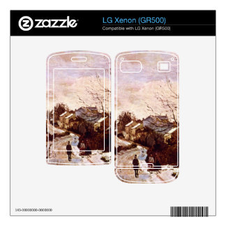 Neige a Lower Norwood by Camille Pissarro Skin For LG Xenon