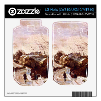 Neige a Lower Norwood by Camille Pissarro Skin For LG Helix
